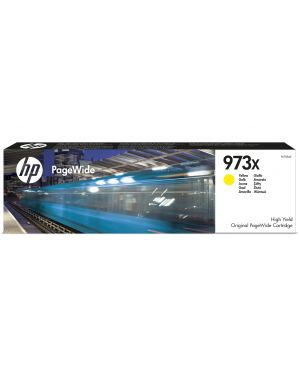 Ink cartridge no 973x yellow HP - OPS SUPP A4 PAGE WIDE INK (K6) F6T83AE 889296544685 F6T83AE
