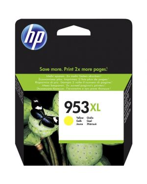 Cartuccia giallo hp 953xl hp officejet pro 8720-8740-8730-8720-8710-8715 F6U18AE 725184104169 F6U18AE
