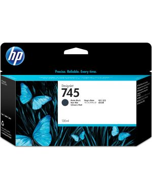 Hp 745 da 130 ml nero opaco HP Inc F9J99A 725184104626 F9J99A