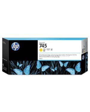 Hp 745 da 300 ml giallo HP Inc F9K02A 725184104657 F9K02A