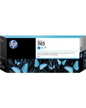 Hp 745 da 300 ml ciano HP Inc F9K03A 725184104664 F9K03A