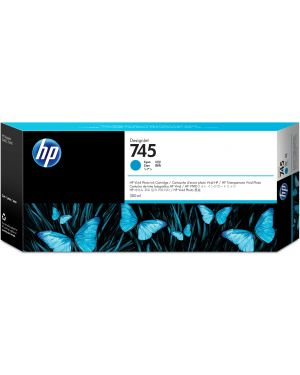 Ink cartridge no 745 cyan HP - GSB SUPP LG FMT DES SUPP (UK) F9K03A 725184104664 F9K03A