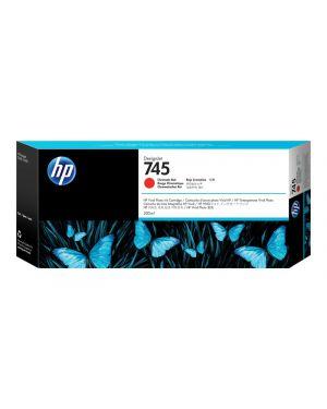 Hp 745 da 300 ml rosso cromatico HP Inc F9K06A 725184104695 F9K06A