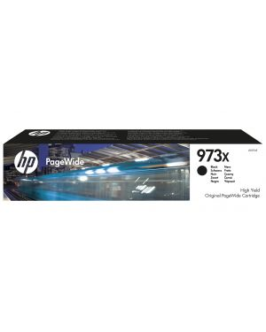 Ink cartridge no 973x black HP - OPS SUPP A4 PAGE WIDE INK (K6) L0S07AE 889296544692 L0S07AE