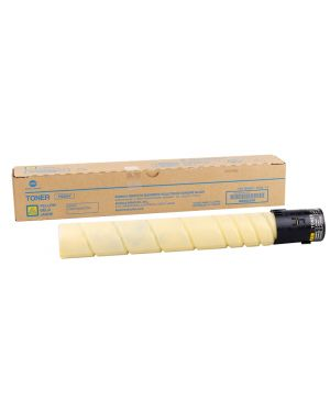 Toner giallo per bizhub c258  -  c308  -  c368 tn-324y A8DA250 1PA8DA250 A8DA250
