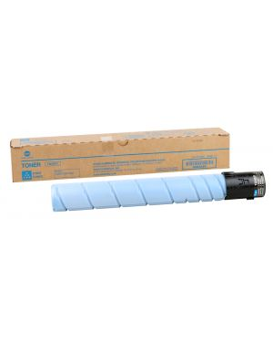Toner ciano per bizhub c258  -  c308  -  c368 tn-324c A8DA450 1PA8DA450 A8DA450