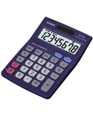 Calcolatrice da tavolo compatta ms-8e 8cifre casio MS-8E-W-EP 4971850090397 MS-8E-W-EP