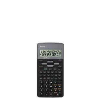Calcolatrice scientifica el 509 grigia EL509TSBGY 4974019917078 EL509TSBGY by Sharp
