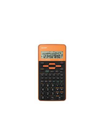 CALCOLATRICE SCIENTIFICA EL 509 ARANCIONE EL509TSBYR by Sharp