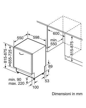 Lavast 13cop a+++-10 60cm tft Bosch SMV88UX36E 4242005143061 SMV88UX36E