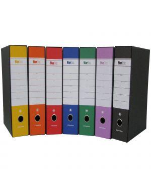 Registratore starbox fto commerciale dorso 5cm rosso starline CONFEZIONE DA 18 stl4031