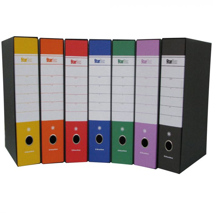 Registratore starbox f.to commerciale dorso 5cm verde starline stl4032 8025133096456 stl4032 by Starline