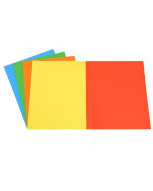 50 cartelline semplici mix 5 colori 200gr starline STL6110 8025133102676 STL6110
