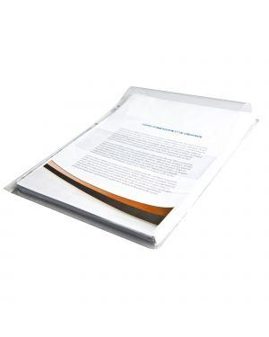 Busta forata pvc con soffietto e patella 21x30cm starline 100101 STL7210 A 100101