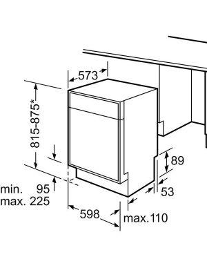 Lavast semint 13cop a++ bianco Bosch SMD46JW03E 4242005163106 SMD46JW03E