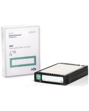 Rdx 4tb removable disk cartridge Hewlett Packard Enterprise Q2048A 4549821149032 Q2048A