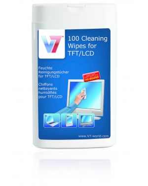 Salviettina detergente 100pz V7 - CLEANING VCL1522 4038489027610 VCL1522_J152156 by No