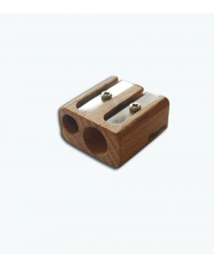 Temperino a 2 posti in bamboo grezzo mod. T2PLG T2PLG