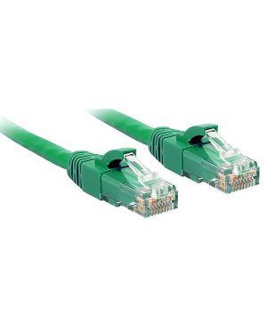 Cavo di rete cat.6 utp verde 10m Lindy 48052  48052