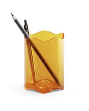 Portapenne trend  80mm arancione Durable Cod. 1701235909 4005546108810 1701235909