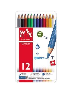 fancolor matite sc metallo Caran D'Ache 1288312 7630002306980 1288312