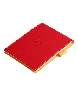 Portablocco+bloc 13 quadr - rosso p Rhodia 138113C 3037921381137 138113C