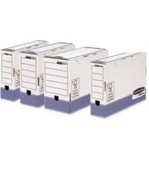 Scatola archivio legale dorso 100mm bankers box system Confezione da 10 pezzi 0030801_80321 by No