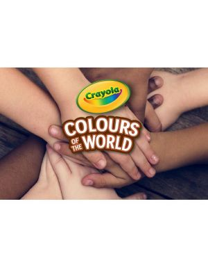 24 matite colorate worldcolours Crayola 68-4607 71662246075 68-4607