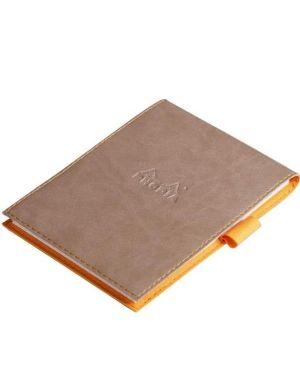 Portablocco+bloc 13 quadr - tortora Rhodia 138104C 3037921381045 138104C