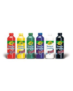 tempere lavabili 250ml Crayola 3926 5010065039261 3926