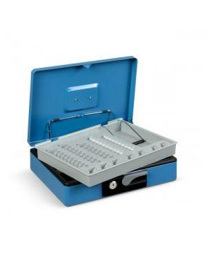Cassetta portavalori 230x185x80mm blu koala deluxe 3414BL_80615