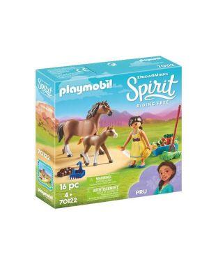 Pru con cavallo e puledro PlayMobil 70122 4008789701220 70122