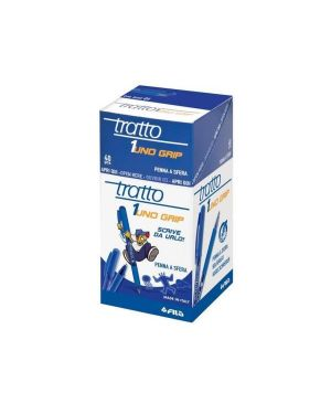 Penna sfera tratto 1grip blu Tratto 822201 8000825001611 822201
