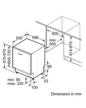 Lavast 13cp c 60cm extraclean homec Bosch SMV4EDX17E 4242005245925 SMV4EDX17E