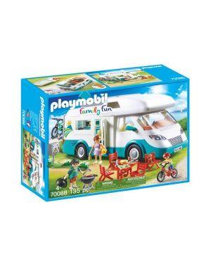 Camper con famiglia in vacanza PlayMobil 70088 4008789700889 70088