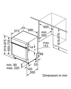 Lavast semi 13cp d 60cm extrcl home Bosch SMI4HDS52E 4242005198146 SMI4HDS52E