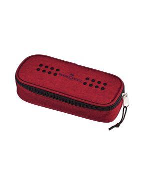Ovalino grip melange marsala rosso faber castell 573022_79420