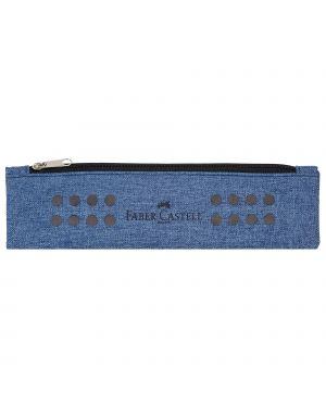 Bustina portapenne grip melange blu avio faber castell 573151_79425