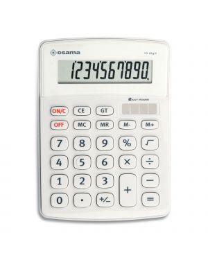 Calcolatrice da tavolo os 502 - 10 osama OS 502/10 BI 8007404012761 OS 502/10 BI_80342
