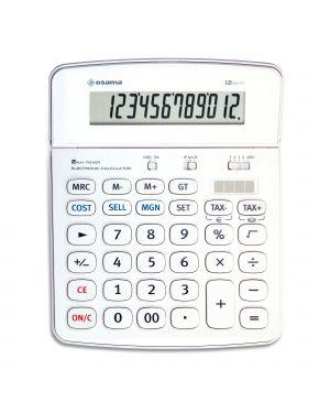 Calcolatrice da tavolo os 504 - 12 osama OS 504/12 BI 8007404012792 OS 504/12 BI_80343