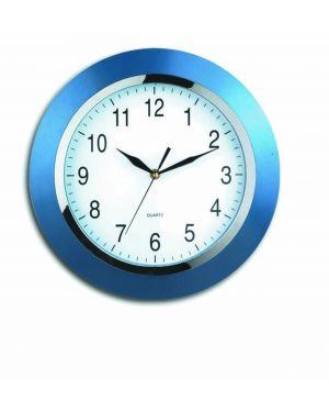 Orologio da parete style blu diam. 33,5cm V150100 8018727501009 V150100_47393