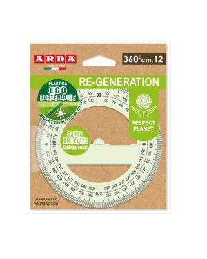 Goniometro 360°  plastica eco sost Arda RE36012 8003438028068 RE36012