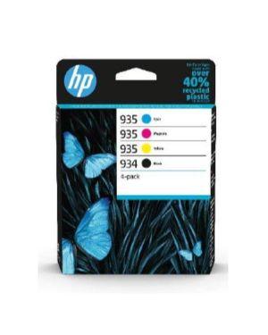 Hp 934 black  -  935 cmy ink  4-pack HP Inc 6ZC72AE#301 195122352264 6ZC72AE#301