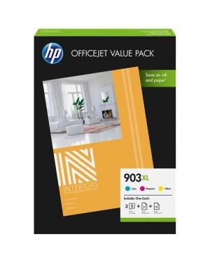 Hp 903xl cmy ink cartridge ovp pack HP Inc 1CC20AE 190781138136 1CC20AE_HP1CC20AE