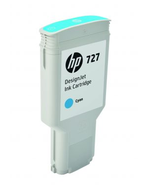 Cartuccia inchiostro ciano designjet hp 727, 300 ml F9J76A 889296103301 F9J76A_HPF9J76A