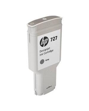 Cartuccia inchiostro grigio designjet hp 727, 300 ml F9J80A_HPF9J80A