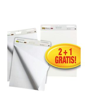 Value pack 2+1 blocchi da parete 30fg 63,5x77,5cm super sticky 559 Post-it 23248_81535