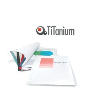 25 cartelline termiche 6mm blu grain titanium CART.TERM 6B_81406