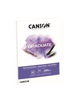Blocco  mix media a5 20fg. 200 g Canson C400110376 3148950020413 C400110376