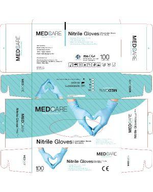 Box 100 guanti nitrile medium Aurelia MD0120-M 4250368560661 MD0120-M